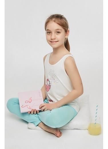 Penti Kız Çocuk Çok Renkli Teen Flamingo 2'li Pijama Takım PNWHOFI220IY Renkli